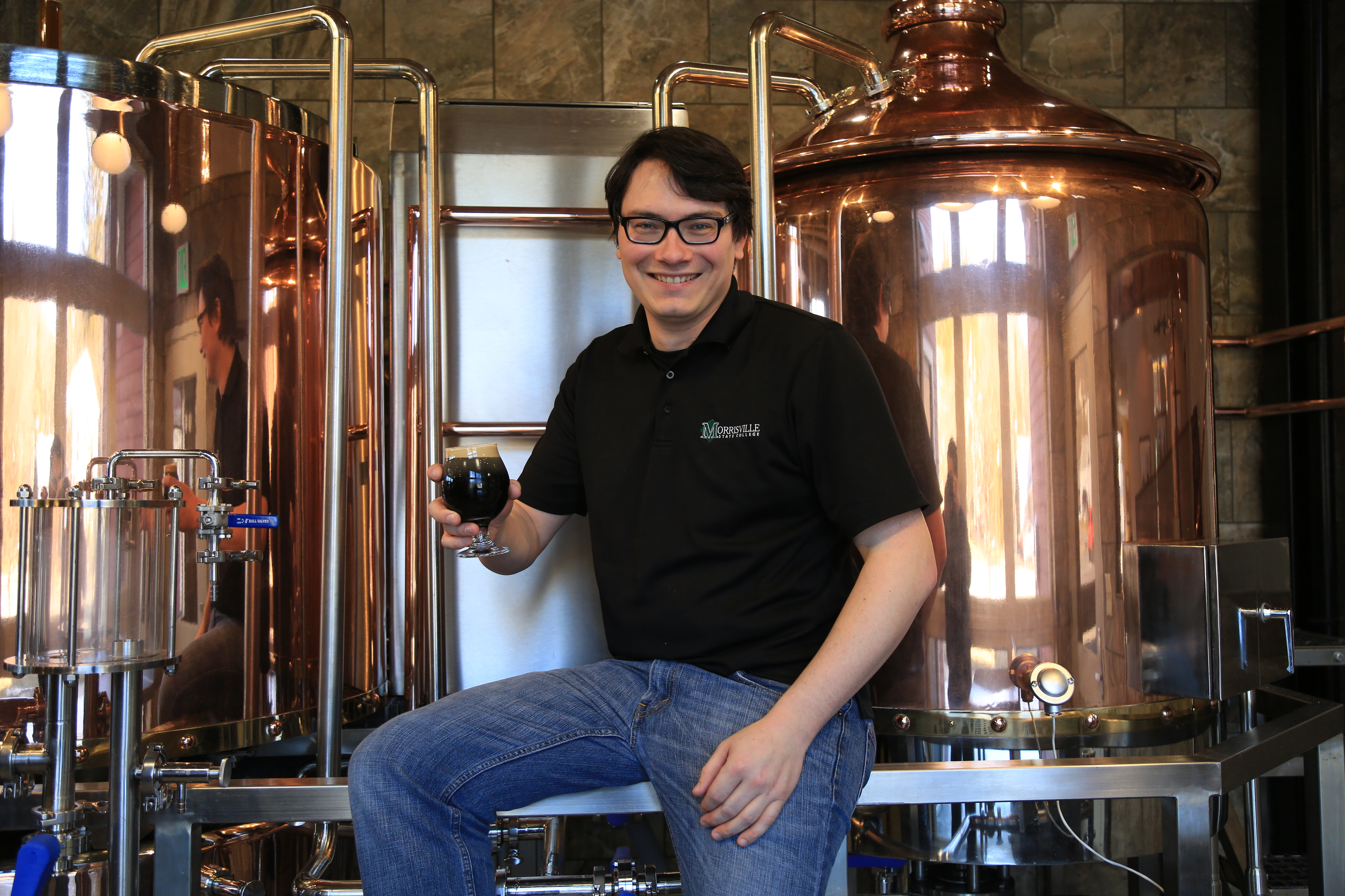 Head Brewer Micheal Coons