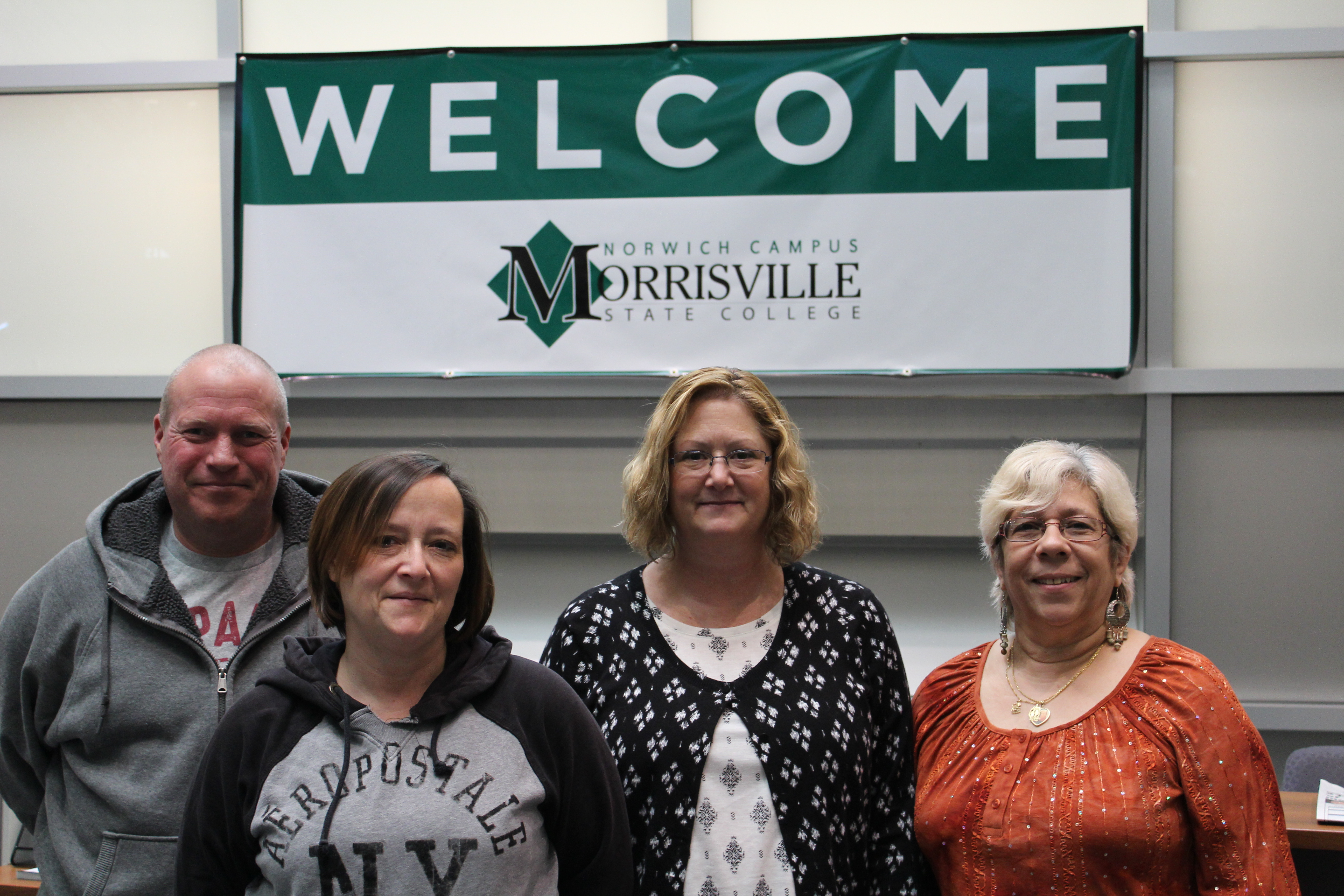 From left: Eric Lyons, AngelTowndrow, Christine Barta-Gallagher, Doreen Williams
