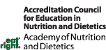 Accreditation Council for Education in Nutrition and Dietetics: Academy of Nutrition and Dietetics