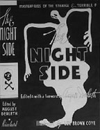 The Night Side horror anthology, featuring Coye's illustrations