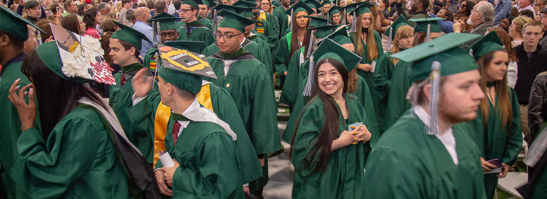 SUNY Morrisville students attend Commencement