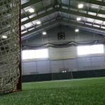 Turf inside the Recreation center